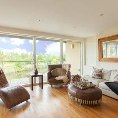 Velvet Lodge Living Area