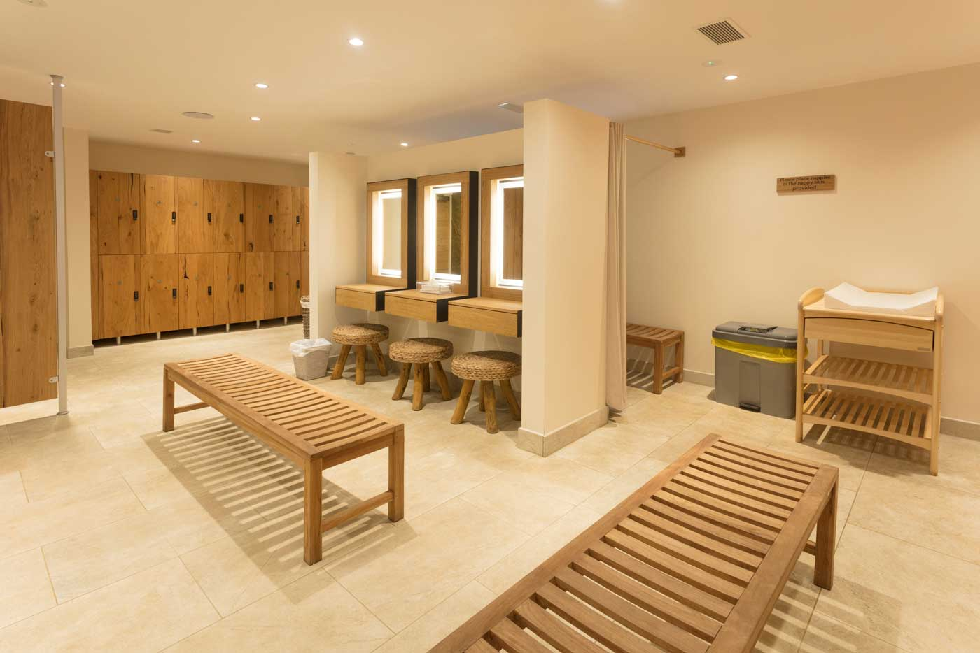 Lower Mill Estate Spa Facilities